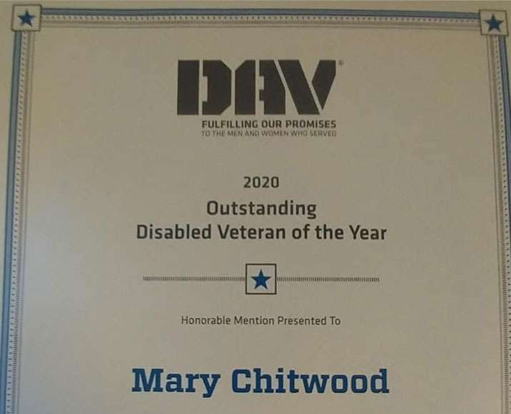 Mary's Award